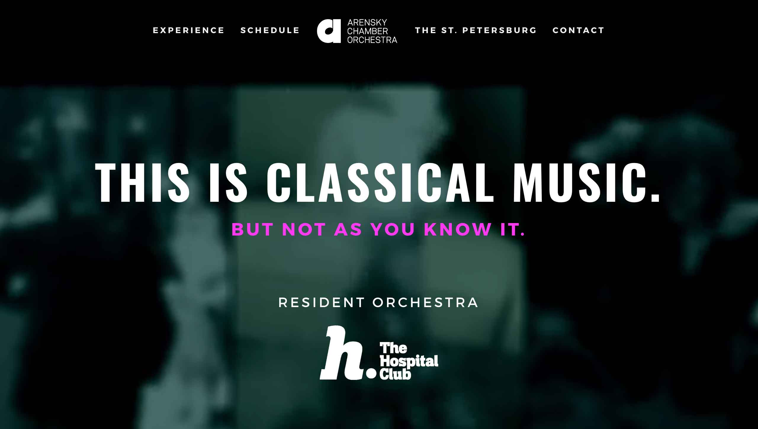 Homepage - Arensky Chamber Orchestra